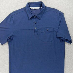 Travis Mathew Short Sleeve Pocket Polo Shirt